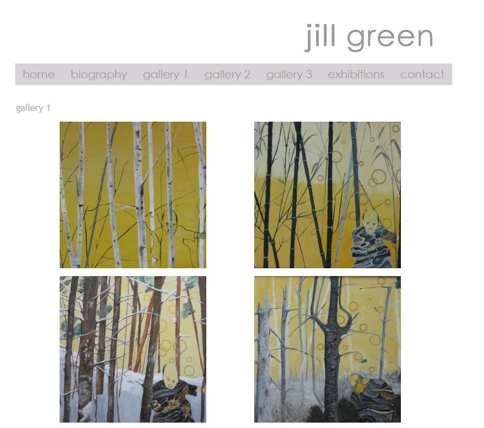 """<a href=""""http://jillgreenart.com/gallery"""" target=""""_blank"""">VIEW SITE</a>"""
